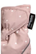 Ski mittens - Light pink - Kids | H&M 2