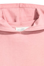 Hooded top - Light pink - Ladies | H&M 3