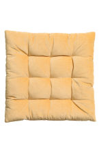 Velvet Seat Cushion - Yellow -  | H&M CA 1
