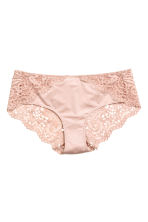Lace hipster briefs - Powder pink - Ladies | H&M 2