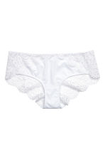 Lace hipster briefs - White - Ladies | H&M CN 2