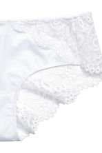 Lace hipster briefs - White - Ladies | H&M 3