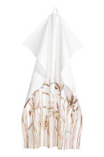 Photographic-print tea towel - White - Home All | H&M CN 1