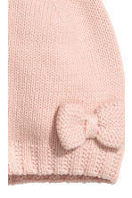 Knitted hat - Powder pink - Kids | H&M 2