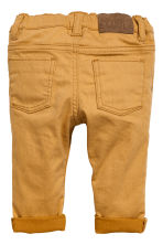 Twill trousers - Mustard yellow - Kids | H&M 2