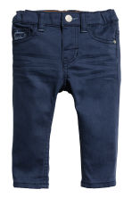 Twill trousers - Dark blue - Kids | H&M 1