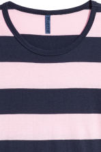 Striped T-shirt - Dark blue/White striped - Men | H&M 3