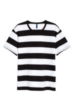 Striped T-shirt - White/Black - Men | H&M 2