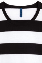 Striped T-shirt - White/Black - Men | H&M 3