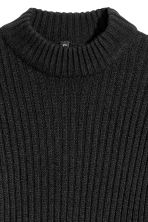 Rib-knit Sweater - Black - Ladies | H&M CA 3