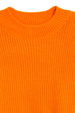 Ribbed jumper - Orange - Ladies | H&M CN 3
