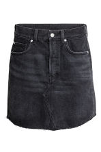Denim skirt - Black denim - Ladies | H&M 2