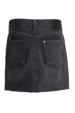 Denim skirt - Black denim - Ladies | H&M 3