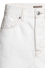 Denim skirt - White denim - Ladies | H&M CA 4