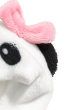 Soft toy panda costume - Black/Panda - Kids | H&M 3