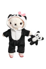 Soft toy panda costume - Black/Panda - Kids | H&M 2