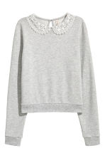 Jumper - Light grey marl -  | H&M CN 2