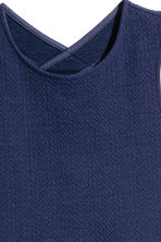 Sleeveless jersey dress - Dark blue - Kids | H&M 4