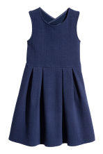 Sleeveless jersey dress - Dark blue -  | H&M CN 2