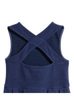 Sleeveless jersey dress - Dark blue - Kids | H&M 3