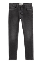 Slim Jeans - Black/Washed out - Men | H&M CN 2