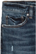 Slim Jeans - Dark denim blue - Men | H&M 4