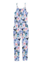 Patterned jumpsuit - Purple/Pink - Kids | H&M CN 2