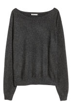 Cashmere jumper - Dark grey - Ladies | H&M CN 2