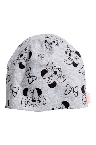 Jersey hat - Grey/Minnie Mouse - Kids | H&M