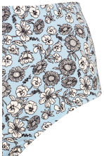 H&M+ Bikini bottoms High waist - Light blue/Floral - Ladies | H&M IE 4