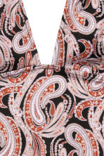 H&M+ Swimsuit - Black/Paisley - Ladies | H&M 3