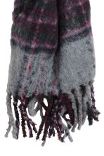 Woven scarf - Grey/Purple - Ladies | H&M IE 3