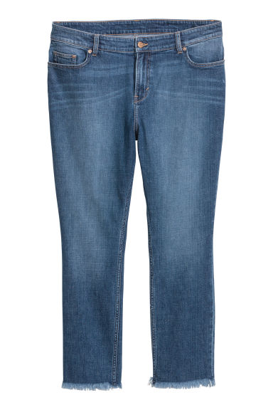 H&M+ Slim Regular Jeans - Denim blue - Ladies | H&M GB