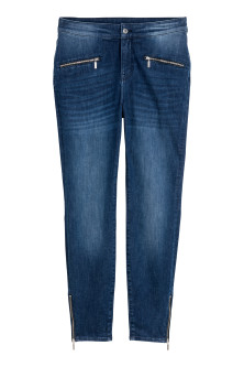 H&M+ Shaping Skinny Zip Jeans