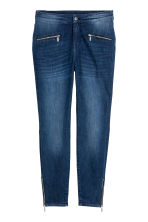 H&M+ Shaping Skinny Zip Jeans - Синий -  | H&M RU 2
