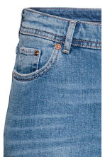 H&M+ Slim Regular Jeans - Denim blue/Trashed - Ladies | H&M 4