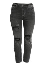 H&M+ Vintage Cropped Jeans - Nero/Trashed - DONNA | H&M IT 2