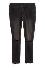 H&M+ Slim Regular Jeans - Schwarz/Washed - DAMEN | H&M CH 3