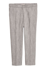 H&M+ Cigarette trousers - Black/Patterned - Ladies | H&M 2