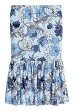 H&M+ Flounced skirt - Light blue/Floral - Ladies | H&M 2