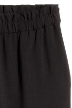 H&M+ Wide pull-on trousers - Black - Ladies | H&M IE 3