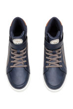 Hi-top trainers - Dark blue - Kids | H&M 2