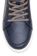 Hi-top trainers - Dark blue - Kids | H&M 3