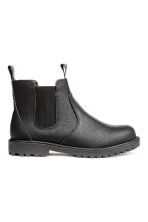 Chelsea-style Boots - Black - Kids | H&M CA 2