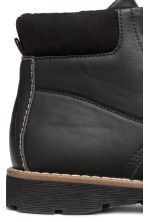 Fleece-lined boots - Black - Kids | H&M 4