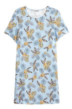 H&M+ Patterned dress - Light blue/Floral - Ladies | H&M 2