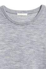 Knitted wool jumper - Grey marl - Ladies | H&M CN 3