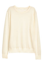Knitted wool jumper - Natural white - Ladies | H&M 2