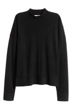 Merino wool jumper - Black - Ladies | H&M 2