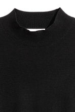 Merino wool jumper - Black - Ladies | H&M CN 3